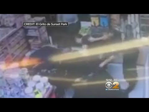 Medic caught on video punching theft suspect