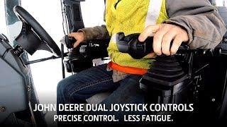 Work Smarter, Not Harder with John Deere Dual Joystick Controls