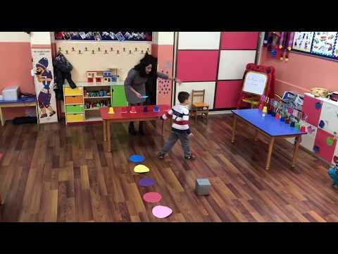 Okul Öncesi Hareketli Oyun Aşamalı Bilmece Oyunu