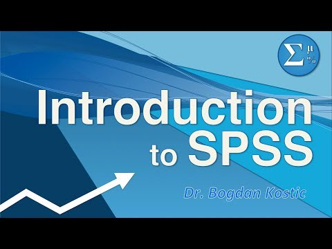 SPSS for Beginners 1: Introduction