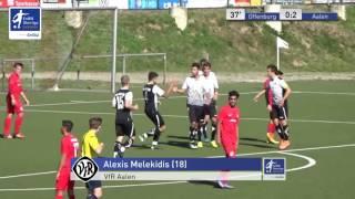 A-Junioren - Offenburger FV vs. VfR Aalen 0:2 - Alexis Melekidis