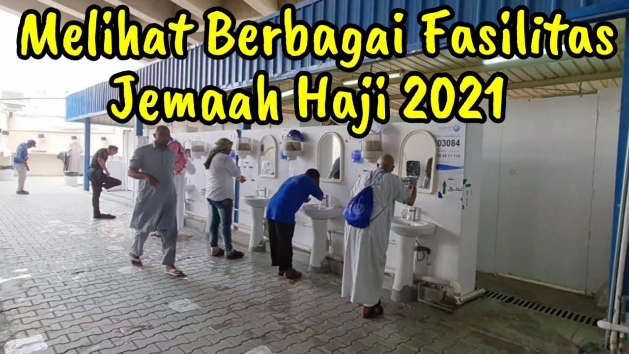 MENGINTIP MUSHOLA DAN TOILET JEMAAH HAJI 2021 DI TENDA MINA MAKKAH