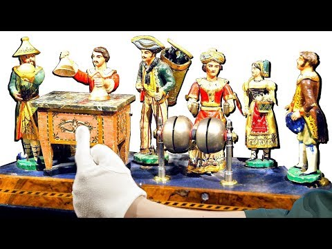 200 Year Old Automata Organ Performs a Magic Trick!