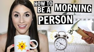 How To Be a Morning Person | BEST Morning Hacks -  [ But First, Coffee ]