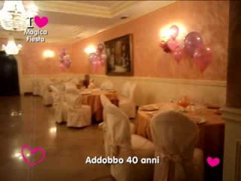 Addobbi con palloncini a Napoli   festa di 40 anni   Magica Fiesta