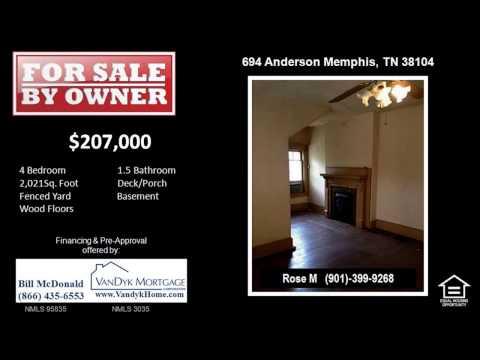 4 Bedroom Home for Sale near Rozelle Elementary School in Memphis TN