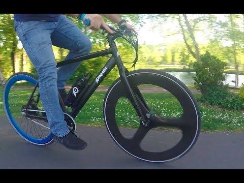 20 Seconds of Fun with Propella Electric Bike - Seattle, WA
