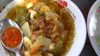 Jakarta Street Food 373 Bogor Noddles Soup Soto Mie Bogor Bunga Rampai TiVi 2016