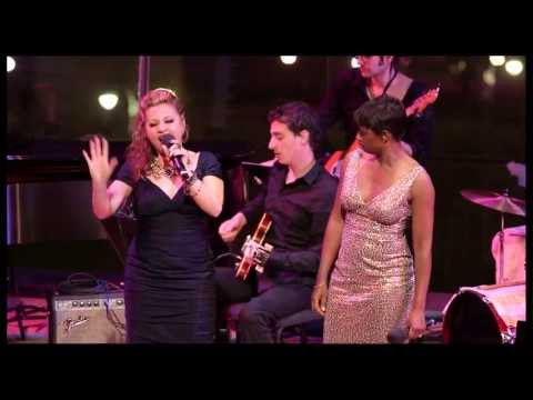 """2013 Broadway.com Audience Choice Awards: Orfeh & Montego Glover Sing """"Broadway Fan"""""""