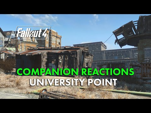 Fallout 4 Companion Reactions - University Point