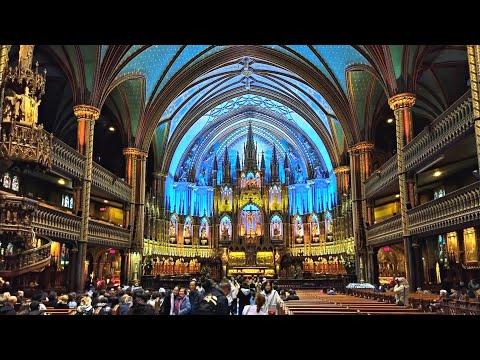 Inside Stunning Notre-Dame Basilica (1829)