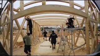 360-Grad-Video: Die Baustelle der Dorfgemeinschaft Hitzacker