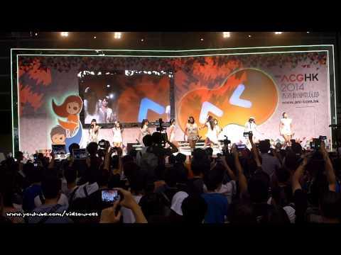 2014 第十六屆香港動漫電玩節 - Heartbeat 青年音樂祭 - Tokyo Performance Doll 東京パフォーマンスドール