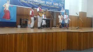 "Performance Tim SMA N 8 Manado dalam ""Lomba Festival Musikalisasi Puisi Tahun 2017"""