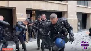 Premier débordement GJ protègent la police🔴 Gilets Jaunes a Paris 🙋♀️🙋♂️ Acte 16 🔴 ✊✌️ MuliCam