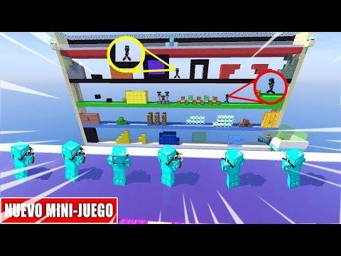 CORRE O TE DISPARO NUEVO MINI-JUEGO SUPER ÉPICO DE MINECRAFT EGGWARS