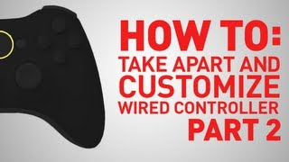 How To: Build And Replace Parts On Xbox 360 Wired Controller - Part 2