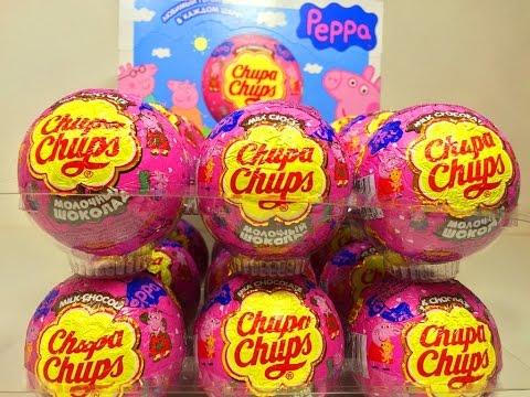 Открываем Шары Сюрпризы Свинка Пеппа,Unboxing Surprise Eggs Peppa Pig