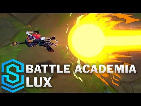 Battle Academia Lux Skin Spotlight - Pre-Release - League of Legends