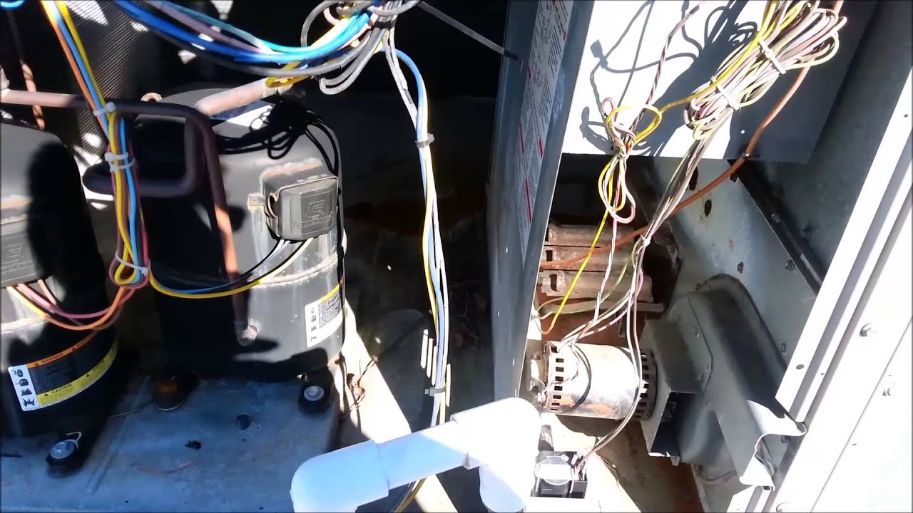 Lennox Air Conditioning >> Replace A Roll Out Switch - YouTube