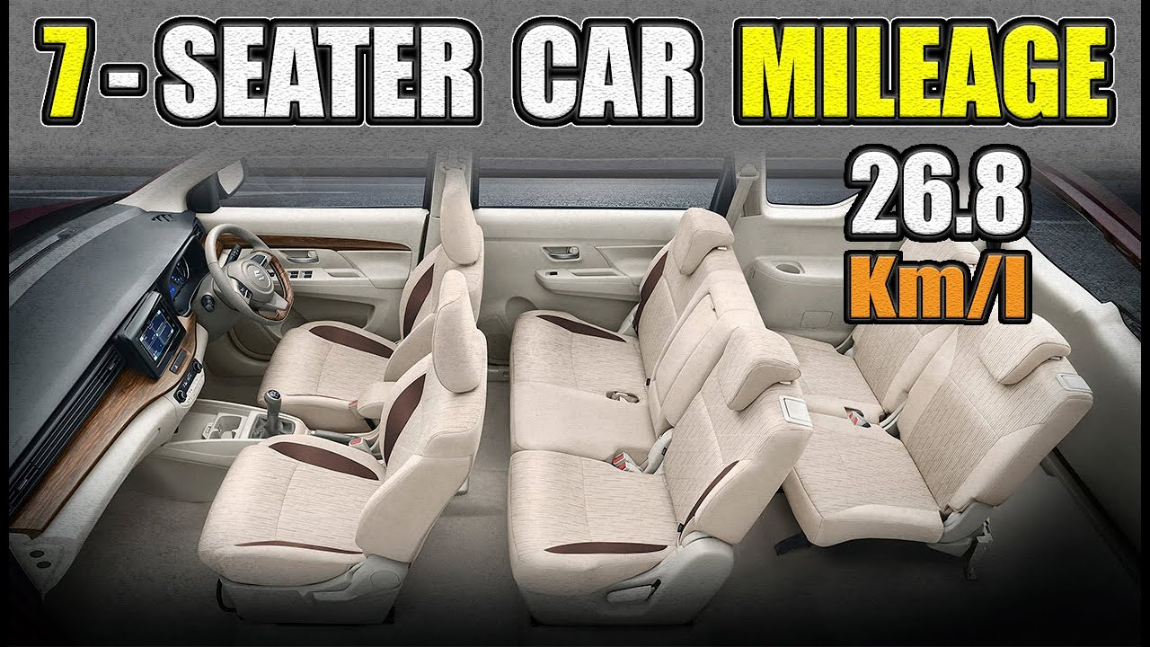 10 Highest Mileage 7 Seater Cars In India 2020 Explain In Hindi Youtube