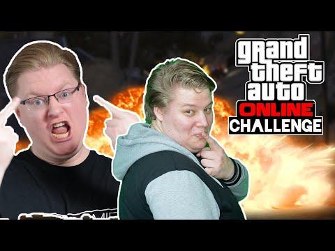 Challenge: 6 Minuten PURES CHAOS 🎮 Grand Theft Auto Online #193