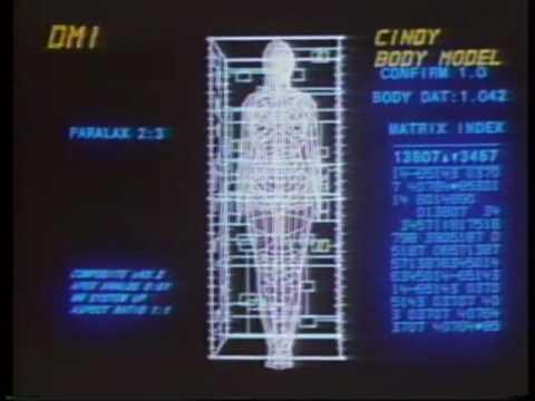 Information International, Inc. (Triple I) 1982 demo reel