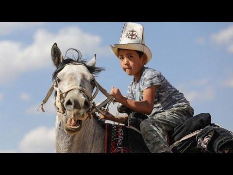 شاهد: ألعاب رياضية وثقافية لبدو قرغيزستان  - نشر قبل 4 ساعة
