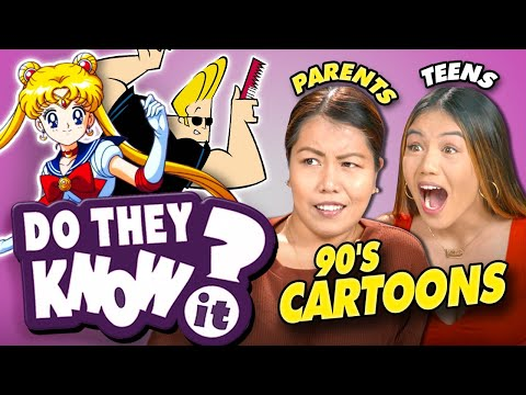 Do Teens And Parents Know Forgotten 90s Cartoons?