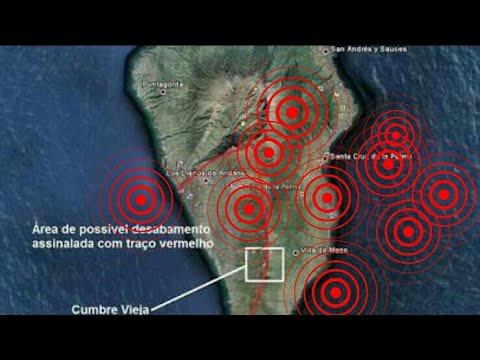 Série de Terremotos no Cumbre Vieja nas Ilhas Canárias provoca reunião de emergência  16/02/2018