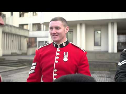 MEET THE IRISH GUARDS - 2014