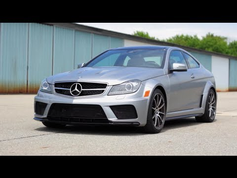 Mercedes-Benz C63 AMG Black Series - Up Close & Personal - CAR and DRIVER