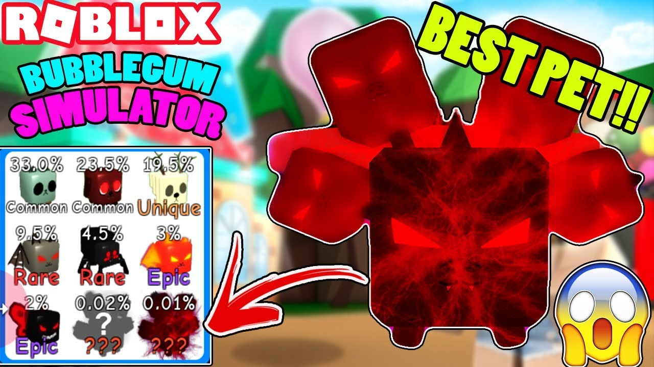 I Got The Demonic Hydra Pet Best Possible Pet Roblox - Omg I Hatched The Best Pet In Bubble Gum Simulator Demonic