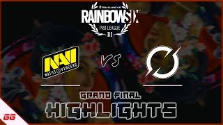 NaVi vs DarkZero Esports | R6 Pro League S10 Finals Highlights