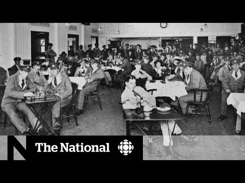 CBC News: The National: British town remembers crimes of WWI Canadian soldiers