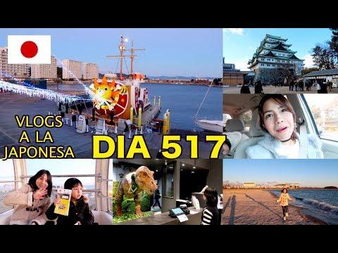 """Dinosaurios Recepcionistas + Visitando el Castillo """"One Piece"""" JAPON - Ruthi San ♡ 01-01-18"""