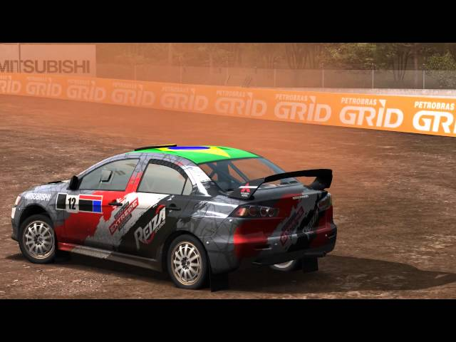 AUTOMOBILISTA Preview - Lancer Evo X Rallycross at Foz