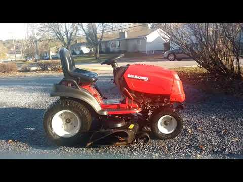 "Winterizing the 24hp MTD Yard Machines 50"" garden tractor"