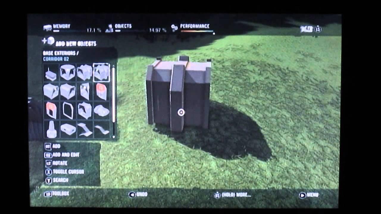 Far cry 3 Map editor FREE DLC - Blood dragon building pieces