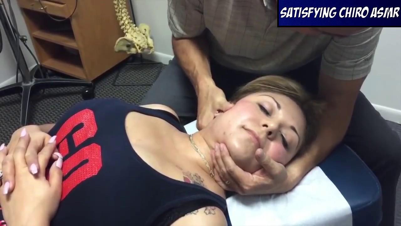SATISFYING CRACKS..chiropractic Adjustment, Thoracic