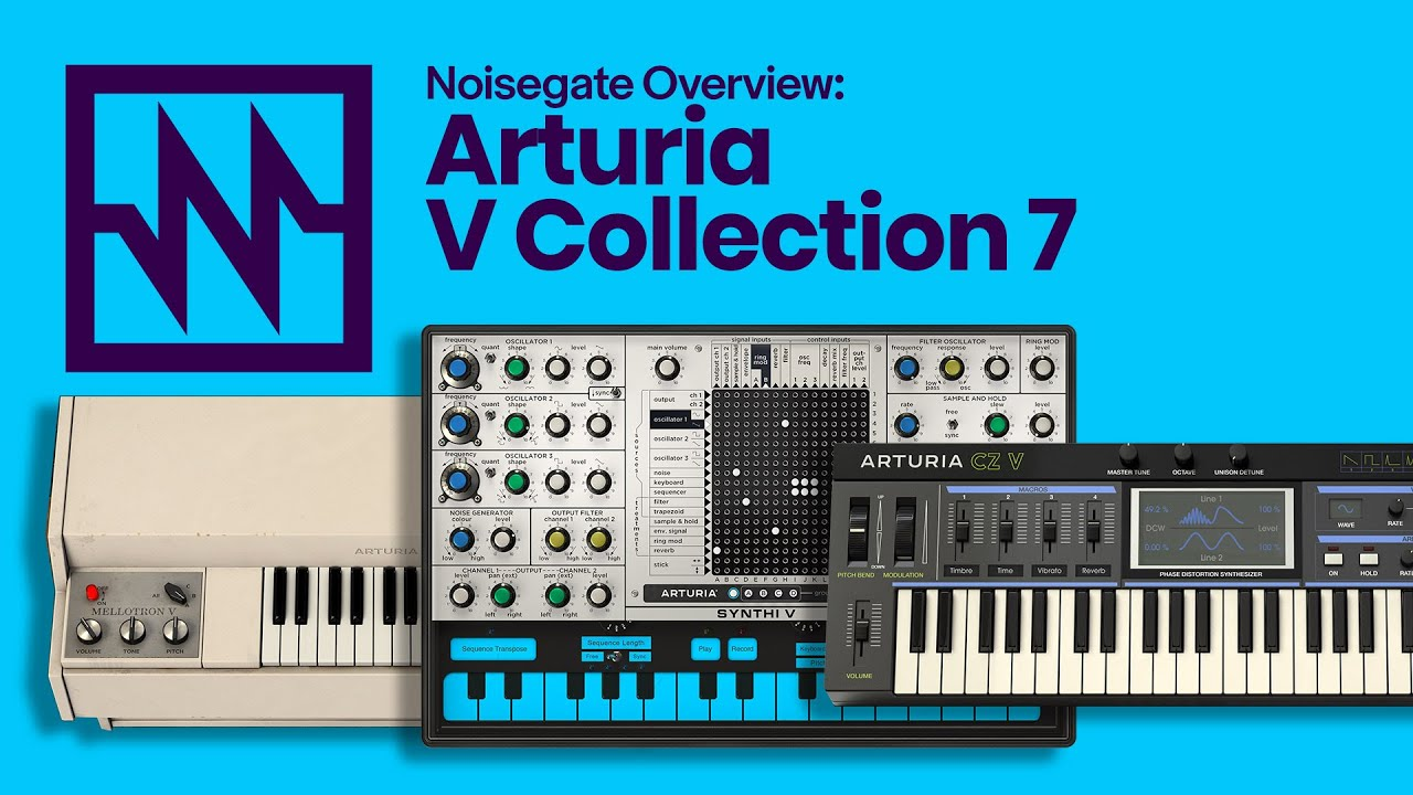 First Look: Arturia V Collection 7's New CZ V, Synthi V