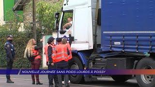 Yvelines | Une nouvelle journée sans poids lourd à Poissy