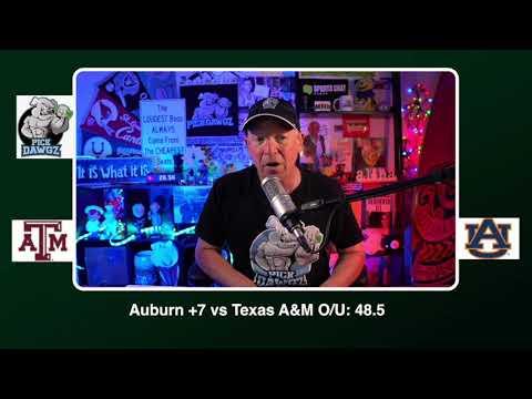 Auburn vs Texas A&M 12/5/20 Free College Football Picks and Predictions CFB Tips