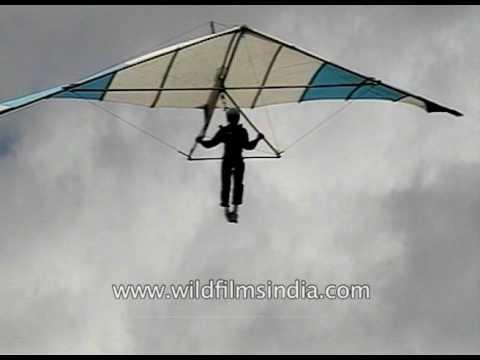 Adventure Hang gliding in Karnataka