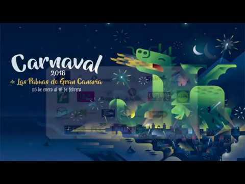 Pregón del Carnaval de Las Palmas de Gran Canaria 2018