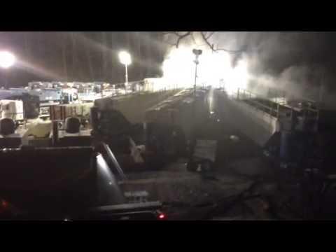Doddridge County, WV Fracking at Night