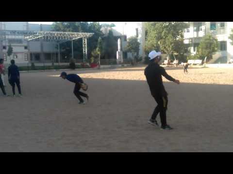 Gujarat baseball sineor team practice session