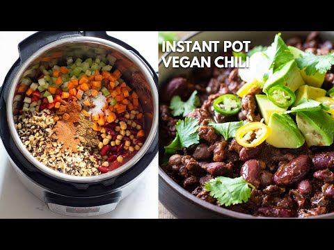 Instant Pot Vegan Chili
