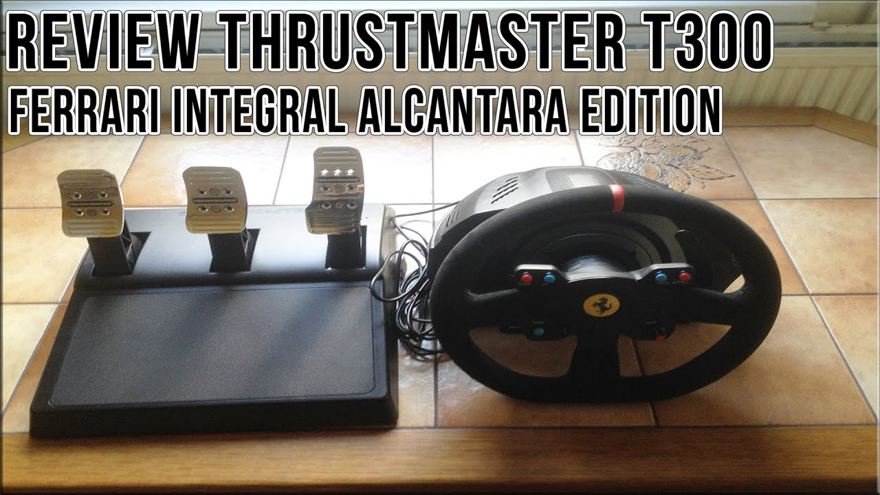 review thrustmaster t300 ferrari integral racing wheel. Black Bedroom Furniture Sets. Home Design Ideas