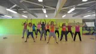 Soca dancehall - Up inna har belly by Busy Signal - Dance Fitness class